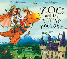 Read Zog and the Flying Doctors baby book by Julia Donaldson . Julia Donaldson and Axel Scheffler are at their sparkling best in this fabulously original sequel to the bestselling ZO Julia Donaldson Books, Gruffalo's Child, Axel Scheffler, Rhyming Pictures, Illustrator, The Gruffalo, Album Jeunesse, Children's Picture Books, Mighty Ape
