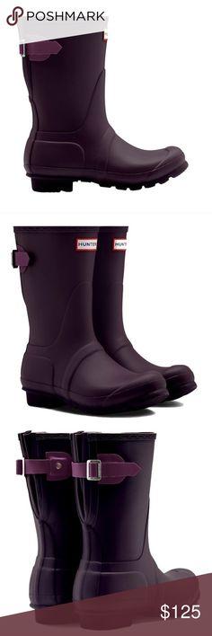 Brand new Hunter Adjustable Short Rain Boots New in box US size 9, euro 40 Hunter Shoes Winter & Rain Boots