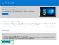 How to upgrade to Wondows 10 from Windows 7 or 8