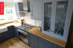 Before & After: A Short on Storage Kitchen Gets a Bespoke Update