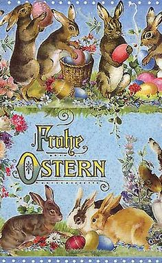 Easter postcard from Germany