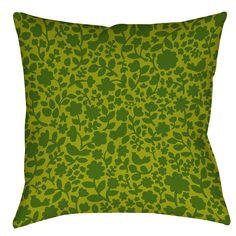 Ambrose Bird Printed Throw Pillow