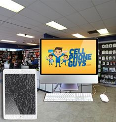 iPad and Apple computer repair available at #CellPhoneGuys for a great price. www.cellphoneguys.com/our-locations/