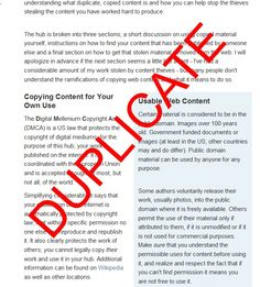 Discussion on copying articles and detailed instructions on how to get duplicate content removed from other sites. A must read for anyone that has had their work stolen and republished by others. Improve Yourself, Finding Yourself, How To Remove, How To Get, Article Writing, Earn Money, Writers, Work Hard, Something To Do