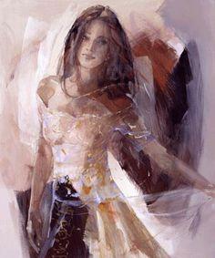 Christine Comyn, b. 1957,  Belgian Artist