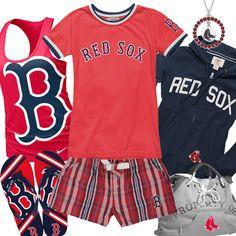 Need Boston gear...hat or shirt. -LJ  Womens Boston Red Sox Fashion