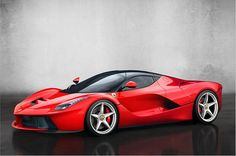 Ferrari LaFerrari - Das große Ferrari hält die V12-Fahnen noch mit am standhaftesten nach oben. Wobei auch das - dank der Einführung der neuen Biturbo-V8-Motoren - bald ein Ende haben könnte