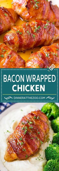 Low Unwanted Fat Cooking For Weightloss Bacon Wrapped Chicken Recipe Bacon Wrapped Chicken Breast Baked Bacon Wrapped Chicken Bacon Brown Sugar Chicken Baked Bacon Wrapped Chicken, Chicken Breast With Bacon, Baked Chicken Recipes, Chicken Bacon Wrap, Bacon Rapped Chicken, Butterfly Chicken Breast Recipe, Chicken Breasts, Keto Chicken, Roasted Chicken