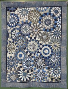 ABOVE: Grand Prix First Prize Winner by Tokiko Yanazawa PART ONE: Traditional Category, Original Design Category, Wa Category By Patricia Belyea TOKYO JP Yesterday the International Great Quilt Fe…