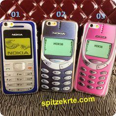 Retro-Stil-persönaliche-Nokia-Handy-weiche-TPU-Schutzhülle-für-iphone 5/5S- Iphone 6/6 plus-und-Iphone 6S/6S plus