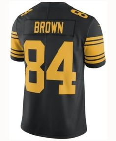 6bea6aeb7 Nike Men Antonio Brown Pittsburgh Steelers Limited Color Rush Jersey