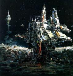 70s Sci-Fi Art: John Berkey