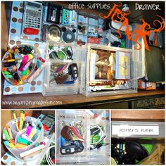 Organizing Made Fun: For the love of organizing: Junk Drawers