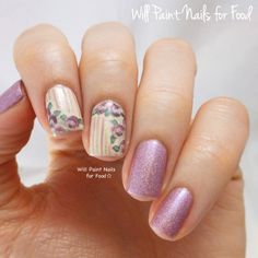OMG!!! I LOVE THEORY NAILS!!!!! So classic and elegant, perfact for Easter and spring!! I love the vintage style of it!!!!! I will get this design at some point this spring and summer!!