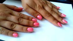 krásný růžový nehty :-)