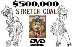 Hullabaloo Steampunk animated film   Indiegogo   The DVD is coming out in Late Summer 2015! I'm waiting with bated breath!