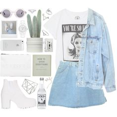 """DAY WEAR - TOO SPUNK FOR YOUR EYES"" by pretty-basic on Polyvore"