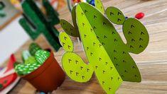 Indianer Kindergeburtstag Deko Kaktus hellgrün Cowboy Party, Cowboys And Indians, Wild West, Yoshi, Kindergarten, Room Decor, Day, Blog, Party