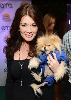 Lisa Vanderpump crisp clear blacks and whites are great for cool winters