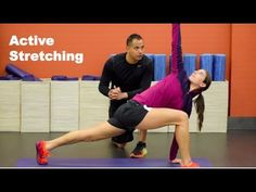 4 Best Active Stretches for Soccer Players | YFutbol - YouTube
