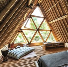 @hideoutbali an eco-offgrid bamboo home in Bali. Available for rent on @airbnb www.airbnb.com/rooms/5904771 - Photos by @emelinaah & @diazjean on instagram