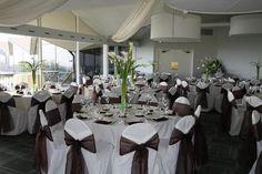# Wedding #Flowers #Centerpieces #calalilies   Elegant Calalilies Centerpieces. White and Black linens.