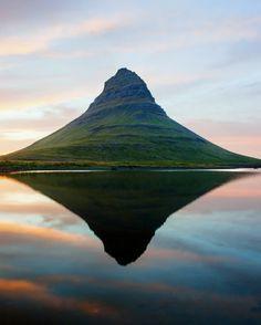 Kirkjufell Mountain,Snaefellsnes Peninsula,Iceland:
