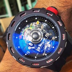Mind bending RM36-01 with directional G Force indicator.