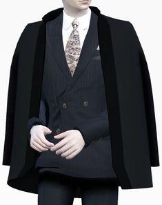 Dandy shoulder coat acc. at Happy Life Sims