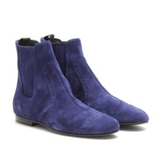 SUEDE ANKLE BOOTS seen @ www.mytheresa.com
