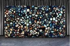 Blue Agate Backlit [Precioustone Collection by Antolini Luigi] Serial#: SF-ANT0111-X120039-FF020