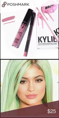 Kylie lip kit koko k Kylie lip kit in color koko k neutral mauve tone Kylie Cosmetics Makeup Lipstick