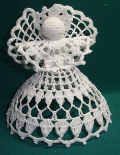 Crochet Angel Pattern, Crochet Angels, Crochet Flower Squares, Crochet Flowers, Crochet Cape, Free Crochet, Basic Hand Embroidery Stitches, Beading Patterns Free, Christmas Crochet Patterns