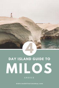 A Guide to Milos, Greece - Madeline Rae Away Greece Itinerary, Greece Travel, Greece Trip, Spain Travel, Moon Beach, Sailing Trips, Destin Beach, Travel Aesthetic, Trip Planning