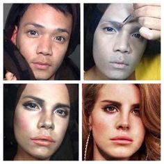 A portrait artist discovers Special FX makeup—blows our minds.