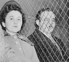 The Rosenbergs: The Rosenbergs are communists who lived in America.  Their names are Julius and Ethel Rosenberg.  They were accused of sending secret information about the atomic bomb to the Soviet Union.  They ended up being executed in 1953.