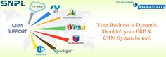 Your Business is Dynamic. Shouldn'tyour ERP & CRM System be too...