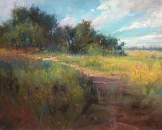 Summer Textures by Richard McKinley Oil ~ 16 x 20