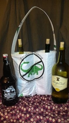 Growler - Double 32 oz Tote