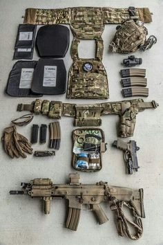 tactical molle gear