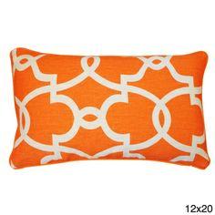 Dean Orange Creme Pillow