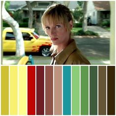 Colour Pallete, Color Palettes, Cinema Colours, Kill Bill, My Favorite Color, Film, Projects, Movies, Movie Posters