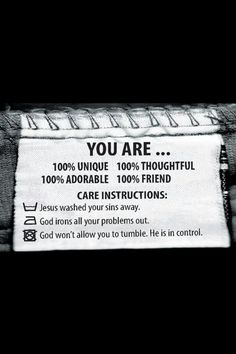 You are......