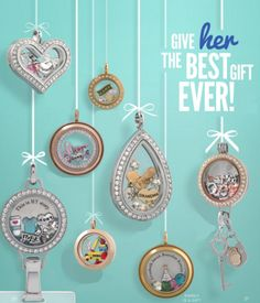 Create an Origami Owl Living Lockets for Her at StoriedCharms.com