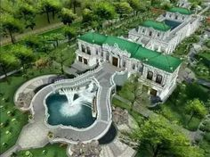 A series of photos presenting China's Yuanmingyuan, or the Old Summer Palace, are a hit online. Fantasy City, Fantasy House, Ancient Architecture, Architecture Design, Old Summer Palace, Castle Floor Plan, Imperial Palace, Taj Mahal, Around The Worlds