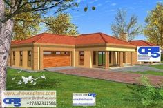 Overall Dimensions- x m Bedrooms- 2 Car Garage Area- Square meters 4 Bedroom House Plans, House Floor Plans, Single Storey House Plans, House Plans South Africa, Architectural Floor Plans, Building Costs, Site Plans, Garage Plans, Beautiful Homes