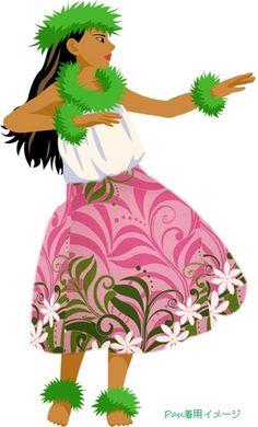 パウスカート通販フラダンス衣装Hulaパウショップ【Moani】 Islas Cook, Hawaii Hula, Hawaiian Art, Hula Dancers, Hula Girl, Island Life, Disney Characters, Fictional Characters, Pin Up