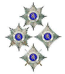 Orde van Oranje-Nassau - met en zonder zwaarden