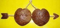 coconut shell craft ideas ~ Crazzy Craft