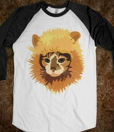 Kittielion Baseball tee.